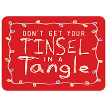 Tinsel in a Tangle Mat