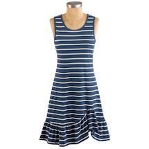 Navy Stripe Knit Sundress