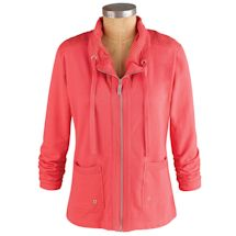Wear Anywhere Zip-Front Jacket
