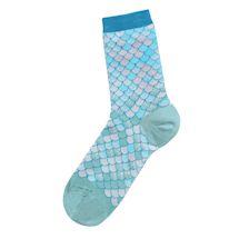 French Iridescent Petals Socks