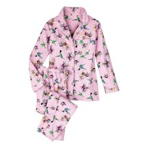 Hummingbird Flannel Pj Set