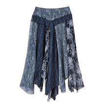 Navy Tango Skirt