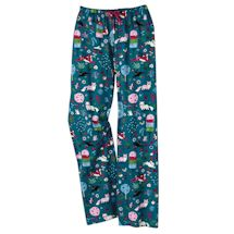 Winter Whimsy Lounge Pants - Wonderland