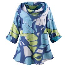 Blue Butterfly Wings Tunic