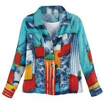 Cassie Mod Print Jacket