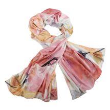 Floral Satin Pockets Wrap