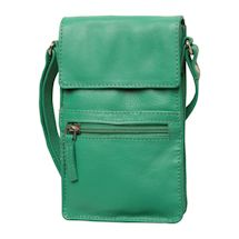 Slimline Leather Crossbody Bag