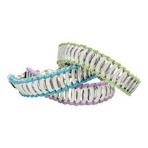 Color-Trimmed Links Bracelet