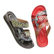 Spring Footwear® Grand Cayman Leather Sandal