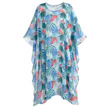 Tropical Garden Sheer Caftan