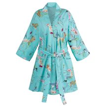Butterfly Garden Shortie Robe