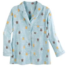 Sleepy Owls Flannel PJ Set