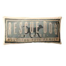 Rescue Dog Accent Pillow