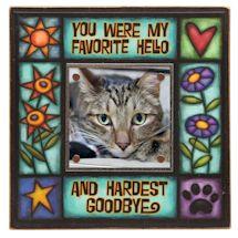 Favorite Hello Pet Memorial Frame