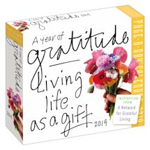A Year Of Gratitude 365-Day Calendar