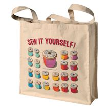 Sew It Yourself Cotton Bag
