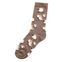 Fluffy Ewe Socks