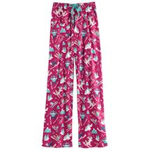 Winter Whimsy Jersey Knit Lounge Pants