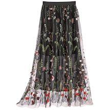 Elegant Garden Layered Skirt