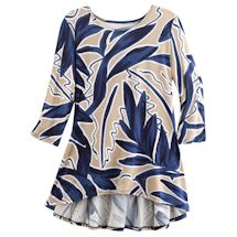 Sandpiper Bay Peplum-Back Tunic