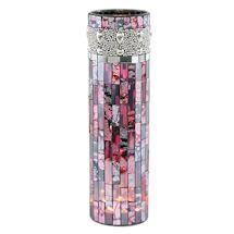 Beaded Mosaic Led Vase