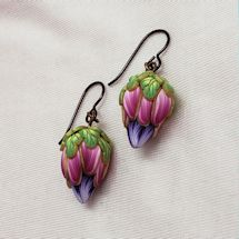 Fuschia Blooms Earrings