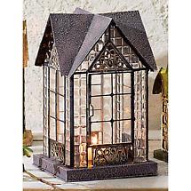 Architectural Candle Lantern - Devonshire (Black)