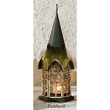 Architectural Candle Lanterns - Pickford (Green)
