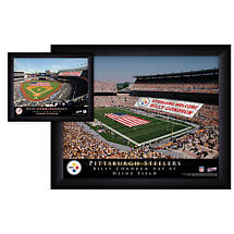 Official Personalized Pro Stadium Framed Print - NFL