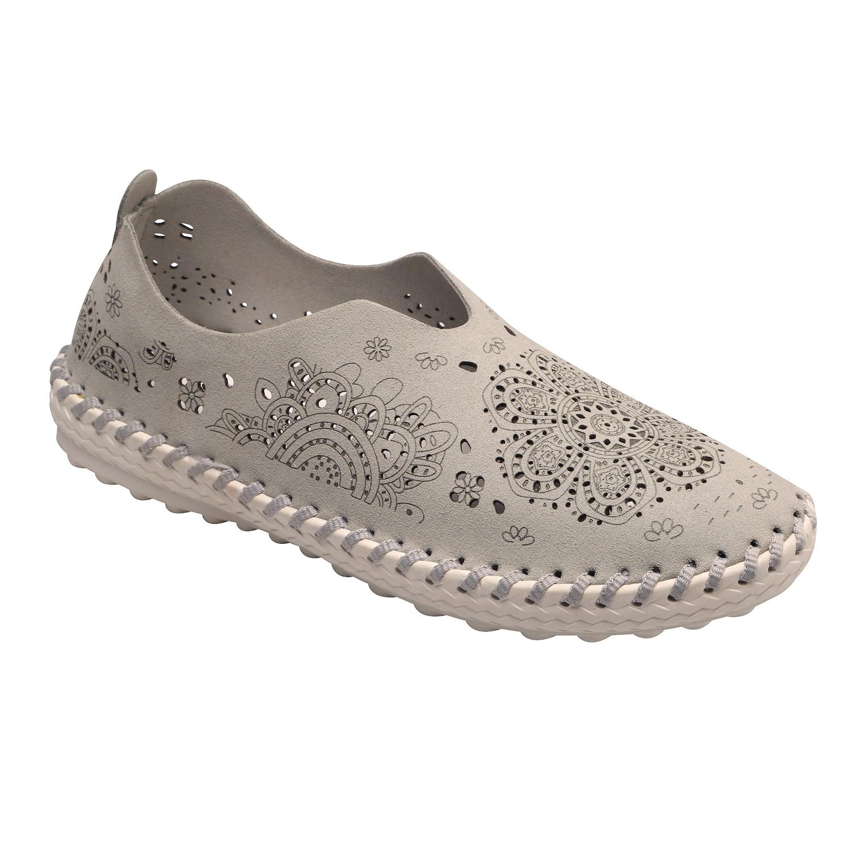 8aa42baed2d Bernie Mev Women s Shoes - Pop-Art Cut-Out Step-In Moccasins