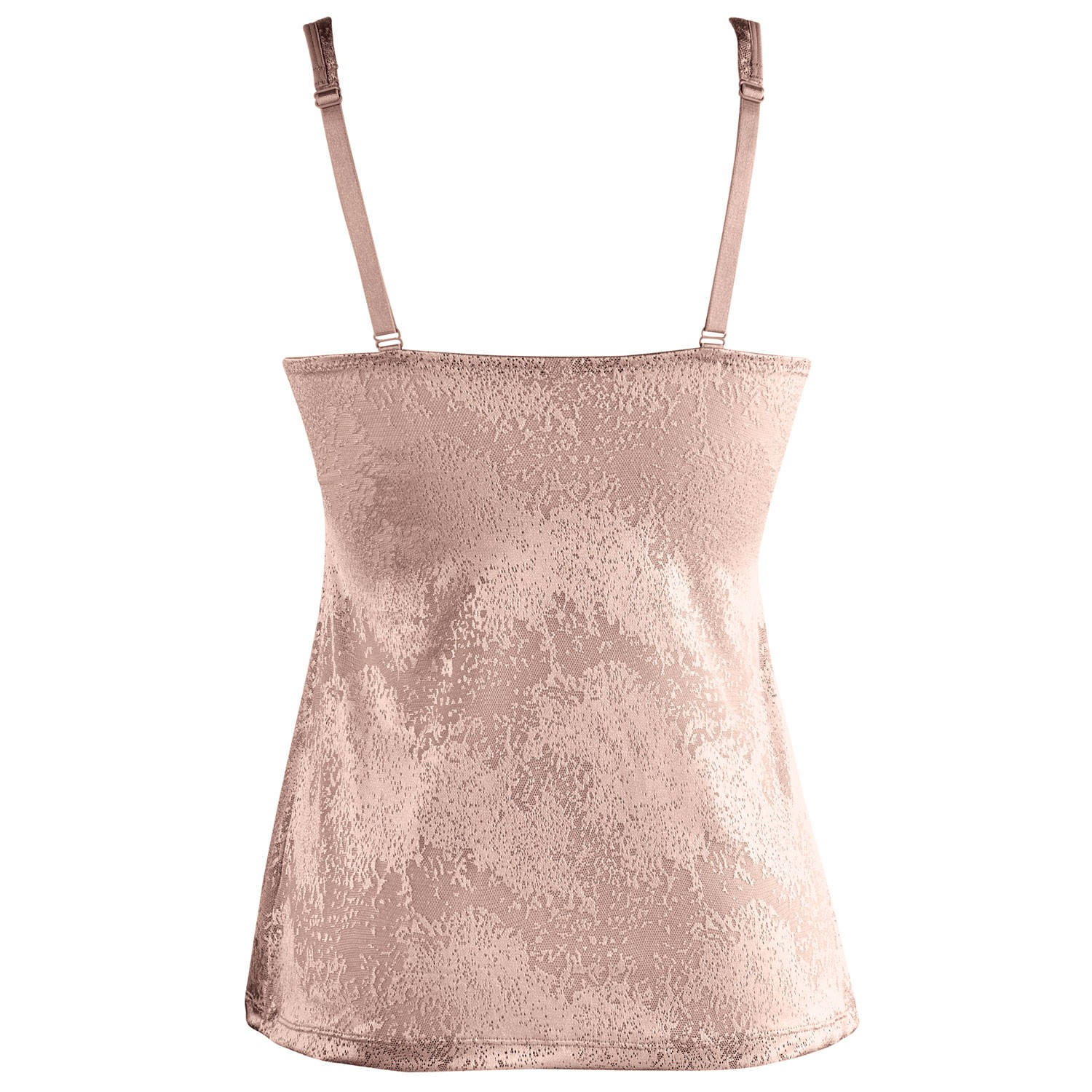 Ahh-By-Rhonda-Shear-Women-039-s-Jacquard-Molded-Cup-Camisole-with-Built-In-Bra thumbnail 10